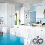 marin stili mutfak dekorasyonu