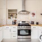 metro fayanslar ile zarif ve sıcak mutfak dekorasyonu