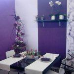 mor yemek odası örnekleri 2016