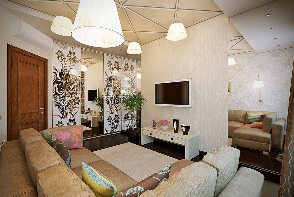 oturma odasında televizyonun yeri