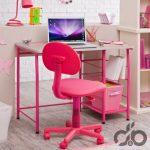 pembe cocuk çalışma masası ve sandalyesi 2016