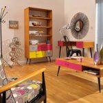 retro tarzı mobilyalar