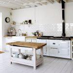 rustik mutfak dekorasyonu beyaz metro fayanslar