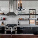 siyah beyaz modern mutfak dekorasyonu