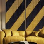 Stripes Black & Gold