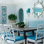 turkuaz rengi ev dekorasyon fikirleri