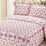 2016 cicek desenli yatak örtüleri