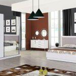 Deco modern beyaz yatak odası takımı 2016