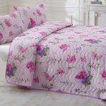 kapitone lila rengi yeni sezon yatak örtüsü