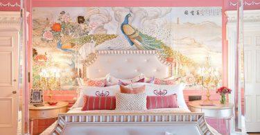 pembe genç kız odası dekorasyon fikirleri 2016