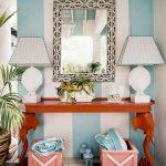 tropikal tarzı ile etkileyici dresuar dekorasyonu