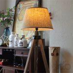 rustik ahşap dekoratif lambader