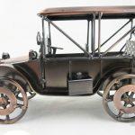 el yapımı metal nostaljik arabalar