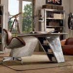endüstriyel stili masa lambası