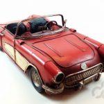 eskitme metal dekoratif araba