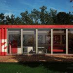 muhteşem konteyner ev tasarımı