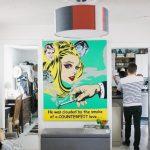 pop-art dekorasyon