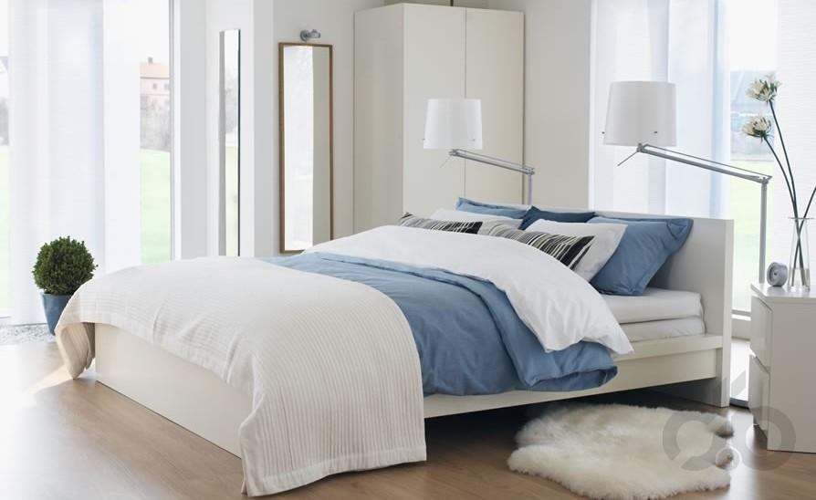 2017 ikea modern yatak odası