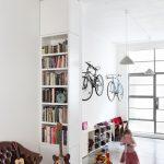 bisiklet ile dekoratif duvar dekorasyonu