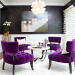 dekoratif mor koltuklar