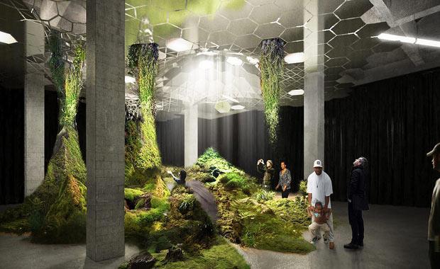 dünyanın ilk yeraltı parkı 4