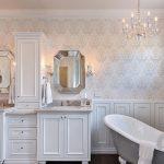 gösterişli banyo dekorasyonu