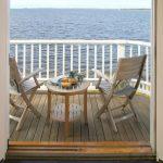 küçük balkonlar için mobilyalar