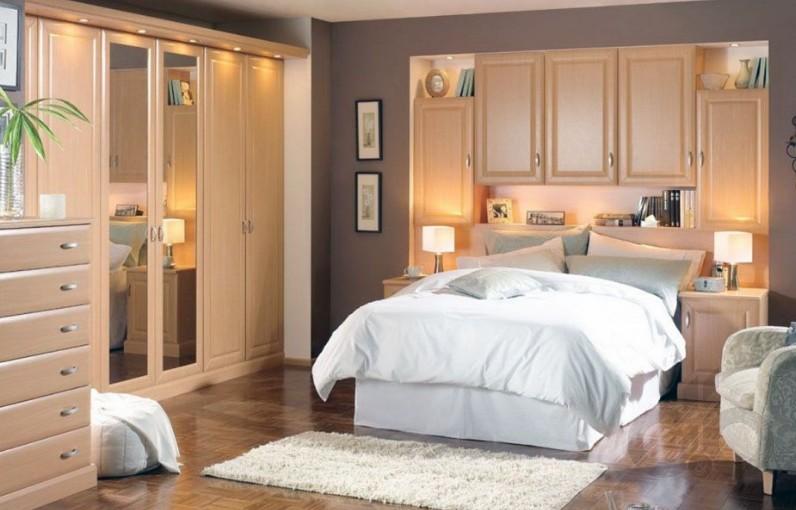 küçük yatak odaları için dolap önerileri