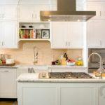 mat beyaz mutfak dolapları klasik mutfak