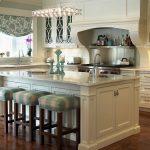 modern vintage stili beyaz mutfak