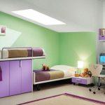 mor çocuk odası dekorasyon fikirleri