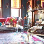 muhteşem klasik stil feminen salon dekorasyonu