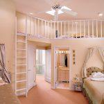 pudra rengi kız çocuk odası
