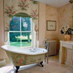 victorian stili zarif banyo dekorasyonu