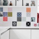 dekoratif mutfak tezgah arkası fayanslar