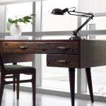 doğal ve sıcak rustik masif çalışma masası