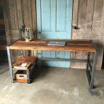 el yapımı masif çalışma masası