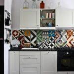 modern patchwork mutfak fayansları