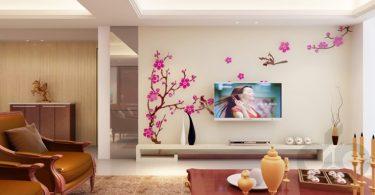 3 boyutlu pembe çiçekler