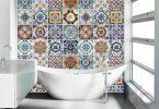 dekoratif banyo fayansları 2017