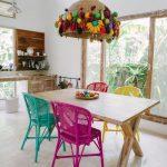 enerji veren renkli mutfaklar