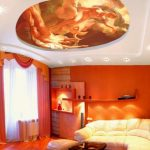 estetik gergi tavan dekorasyonu