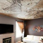 gergi tavan dekorasyon