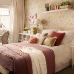 küçük yatak odası dekorasyon fikirleri 2017