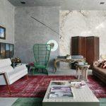 modern eklektik dekorasyon