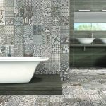 muhteşem patchwork banyo dekorasyonu