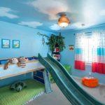 oyunlu çocuk odası dekorasyonu 2017