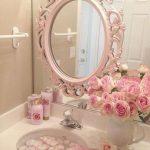 pembe banyo dekorasyon fikirleri
