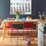 renkli mutfak dekorasyon fikirleri