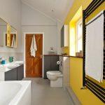 sade ve rahat modern banyo